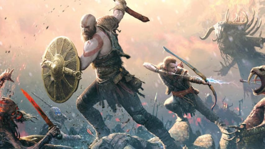 Kratos Son God of War