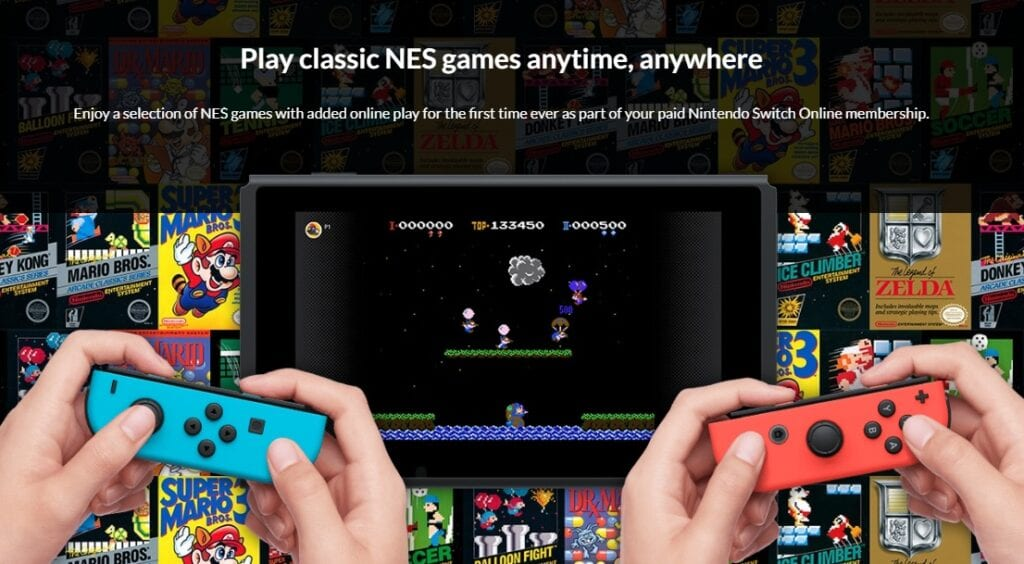 Nintendo Switch Online Service Will Feature 20 NES Games At Launch