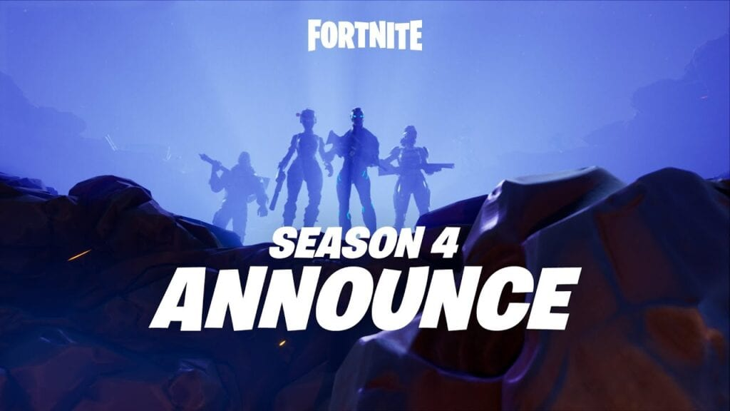 Fortnite Season 4 Starts Off With A BANG! New Everything