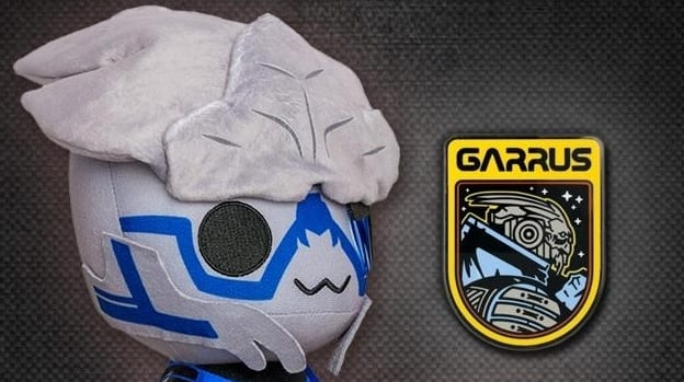 Mass Effect Galactic Boyfriend Garrus Vakarian Now Available As A Plush (GALLERY)