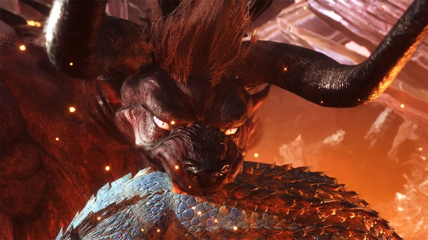 Monster Hunter World Reveals Final Fantasy XIV's 'Behemoth' Coming Soon (VIDEO)