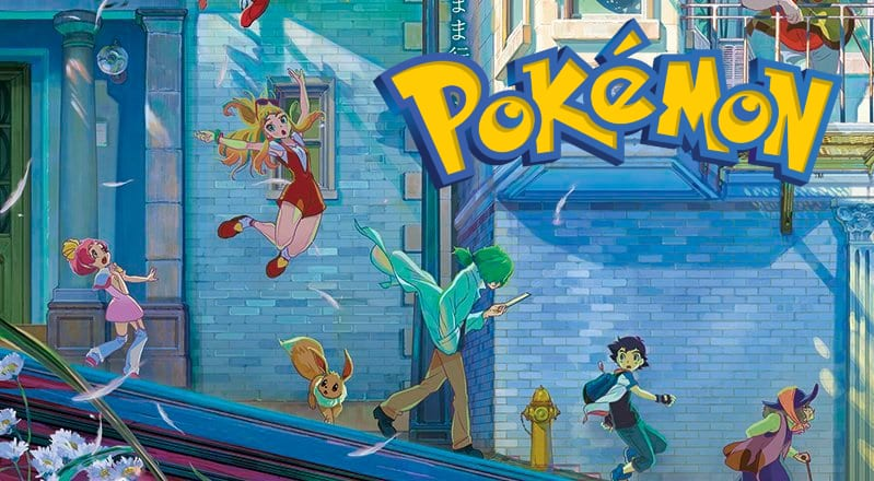 Stunning New Pokemon Movie Poster Revealed