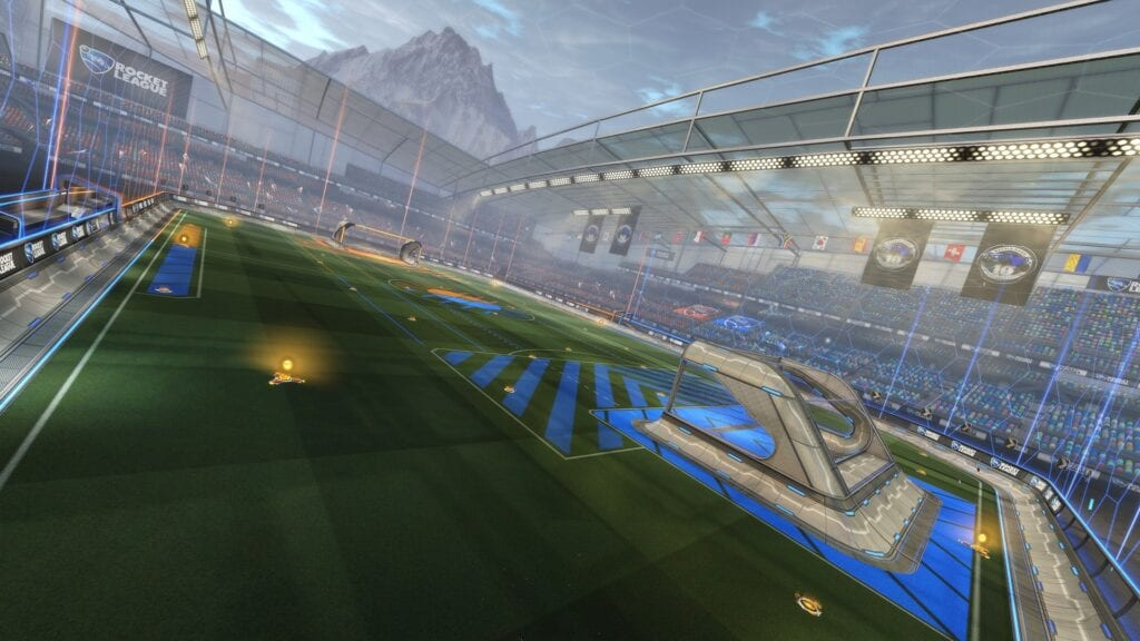 Rocket League Anniversary Event Is Live Featuring 'Throwback Stadium,' New Items, And More