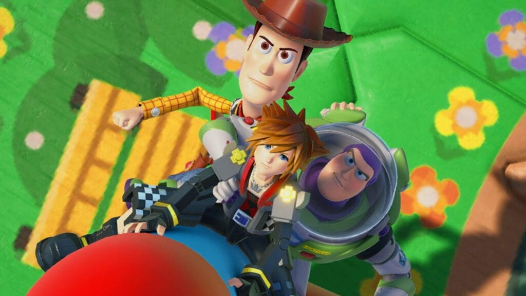 Kingdom Hearts III pre-order poster Toy Story