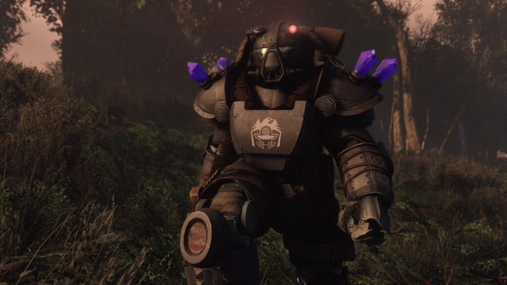 this fallout 4 mod offers incredible skyrim inspired power armor