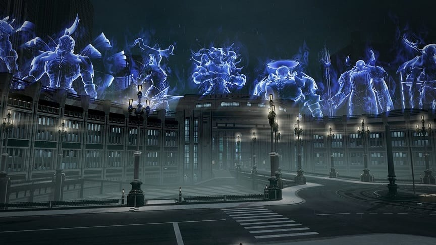 Dissidia Final Fantasy NT Receives FFXV's Insomnia Stage, Coming Soon (VIDEO)