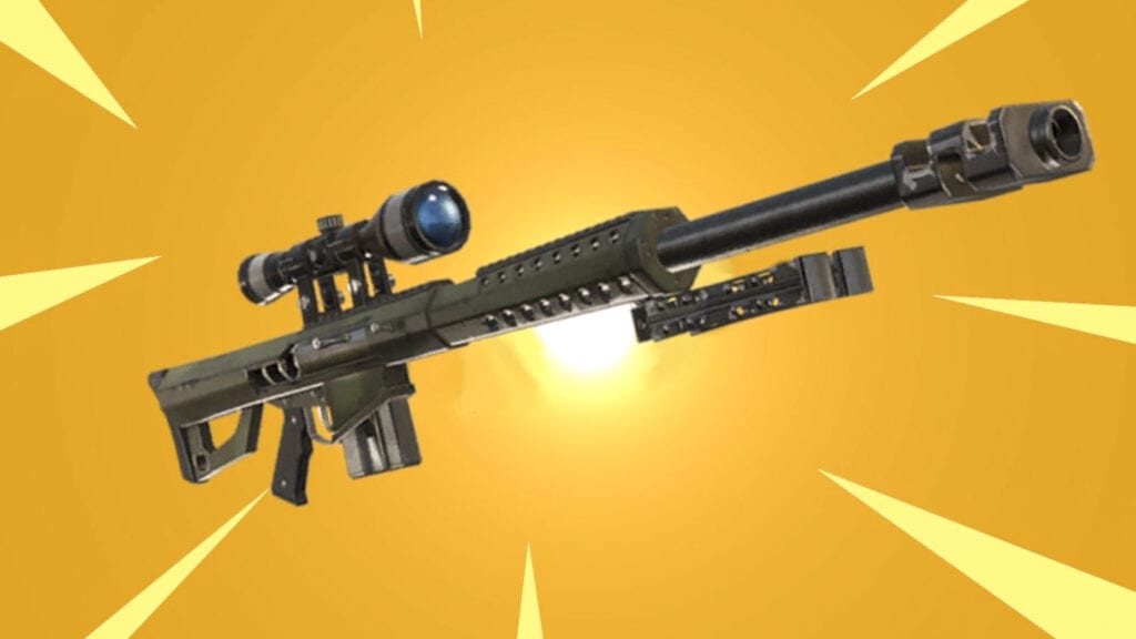 Fortnite Heavy Sniper