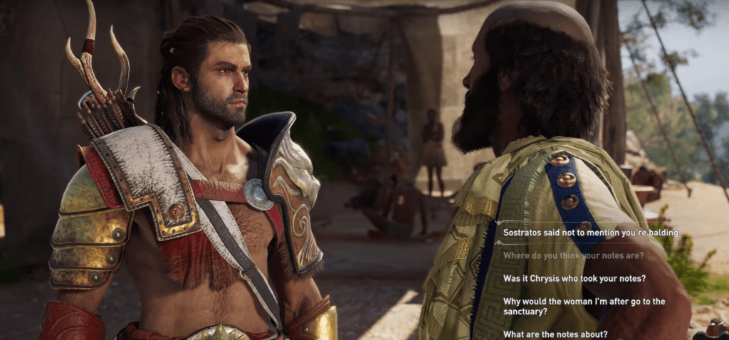 Assassin's Creed Odyssey Hippocrates
