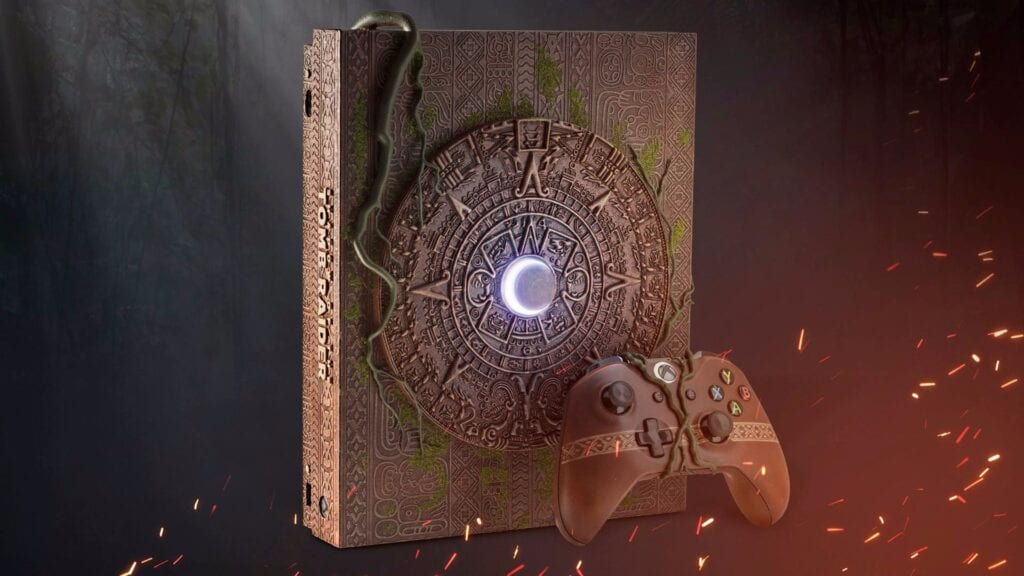 Shadow Of The Tomb Raider Custom Xbox One X Revealed