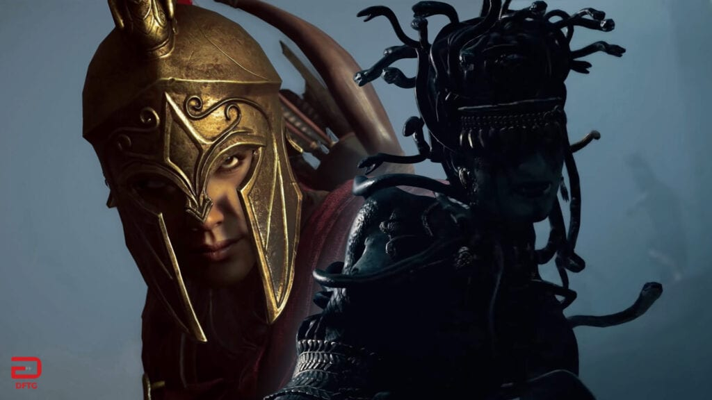 Assassin's Creed Odyssey Reveals Medusa In New Cinematic ...