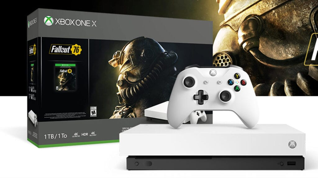 Fallout 76 Reveals Special 'Robot White' Xbox One X Bundle