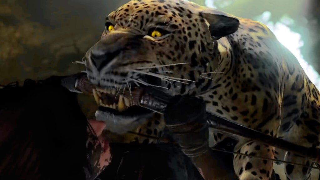 Shadow Of The Tomb Raider Enemies Jaguar