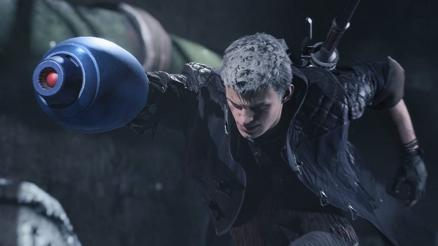 Devil May Cry 5 Deluxe Edition Lets Nero Wield Mega Man's Mega Buster (VIDEO)