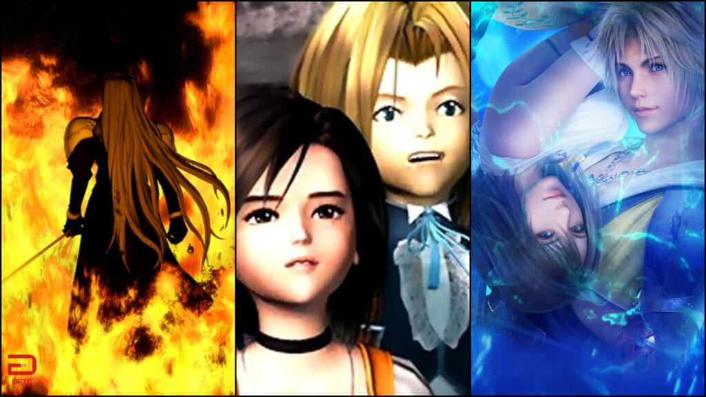 Final Fantasy VII, IX, And X/X-2 Announced For Nintendo Switch