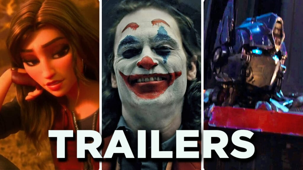 DFTG Movie TV Trailers September 25 Wreck-It Ralph 2 Joker Transformers Bumblebee
