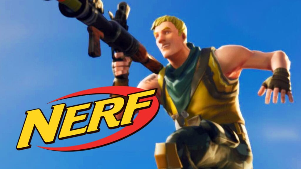 Fortnite Confirms Line Of Nerf Blasters Monopoly Board Game