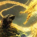 Godzilla Anime Planet Eater King Ghidorah Poster