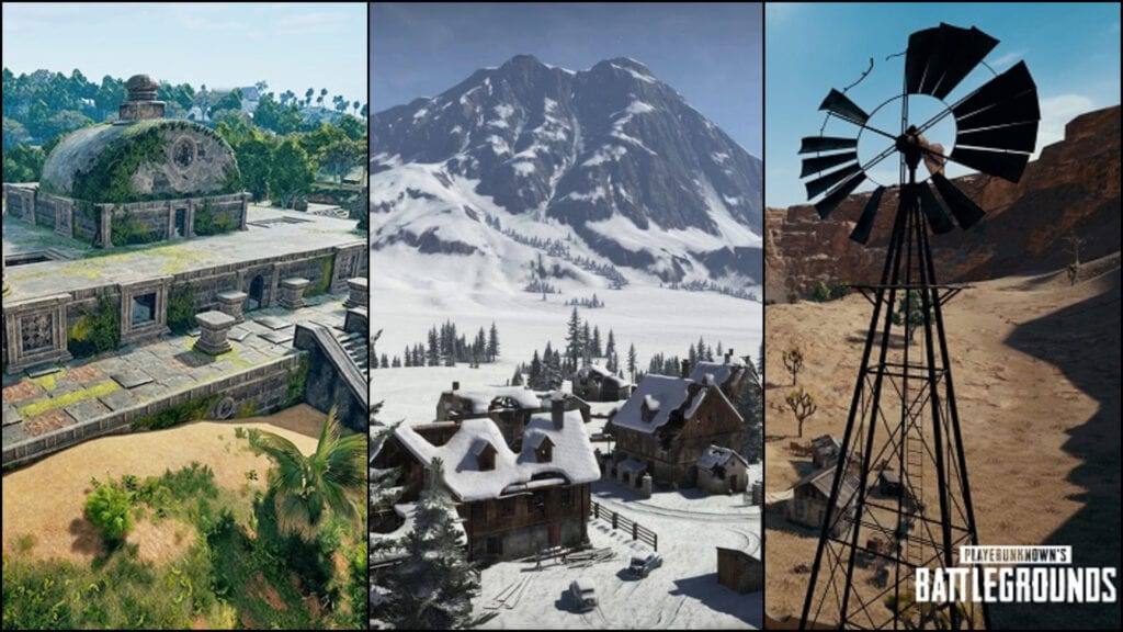 PUBG Datamine Reveals Snow Map, New Game Modes, And More