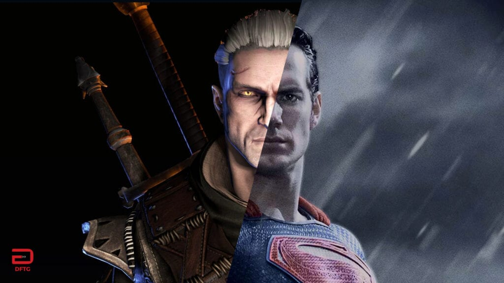Witcher Henry Cavill Superman Netflix