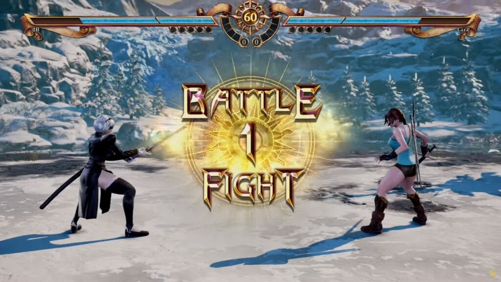 SoulCalibur VI: Custom-Made Characters 2B And Lara Croft Engage In Glorious Combat (VIDEO)
