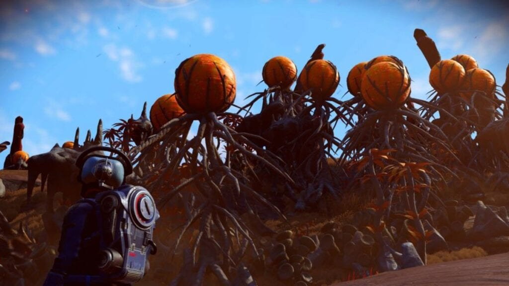 No Man\'s Sky Player Recreates Iconic Nightmare Before Christmas Scene