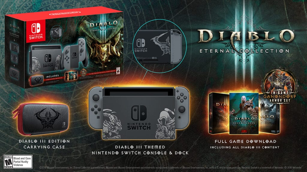 Diablo III Nintendo Switch Bundle Revealed, Pre-Orders Available Now