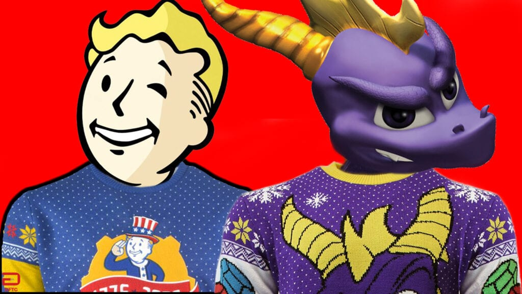 Fallout 76\' And \'Spyro The Dragon\' Get The Ugly Christmas Sweater ...