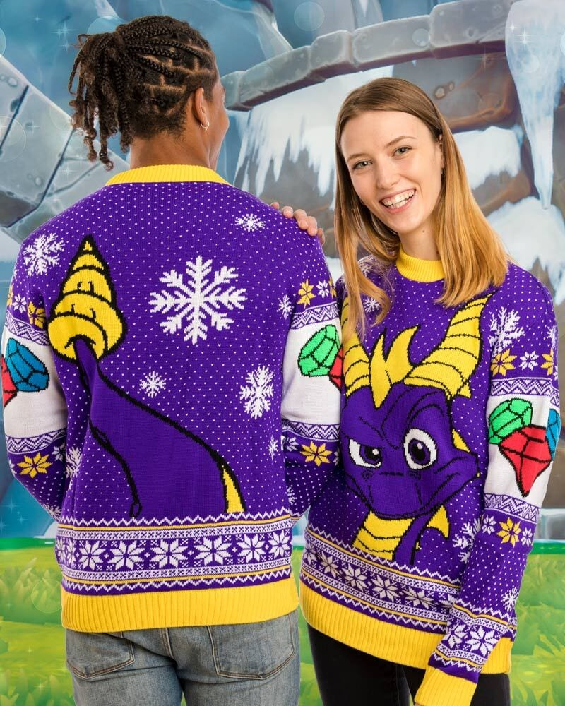 Fallout 76 And Spyro The Dragon Get The Ugly Christmas Sweater