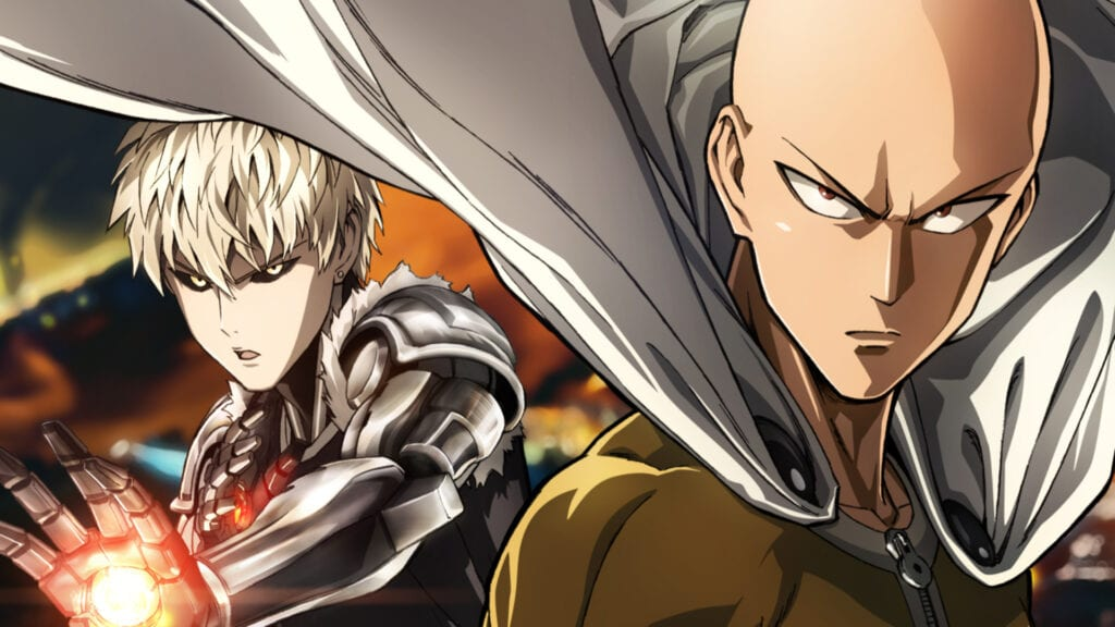 One punch man english