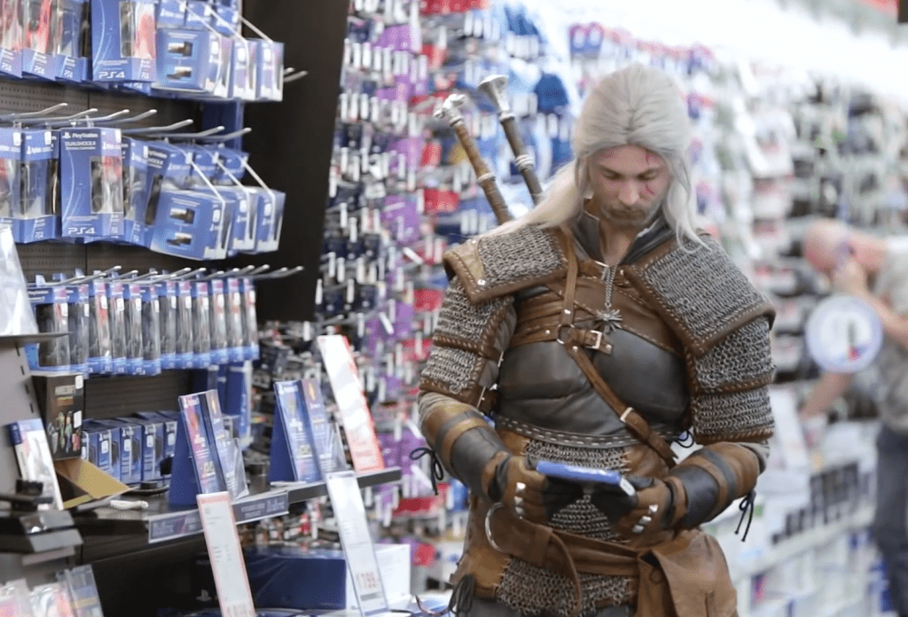 CD Projekt Red Geralt Shopping