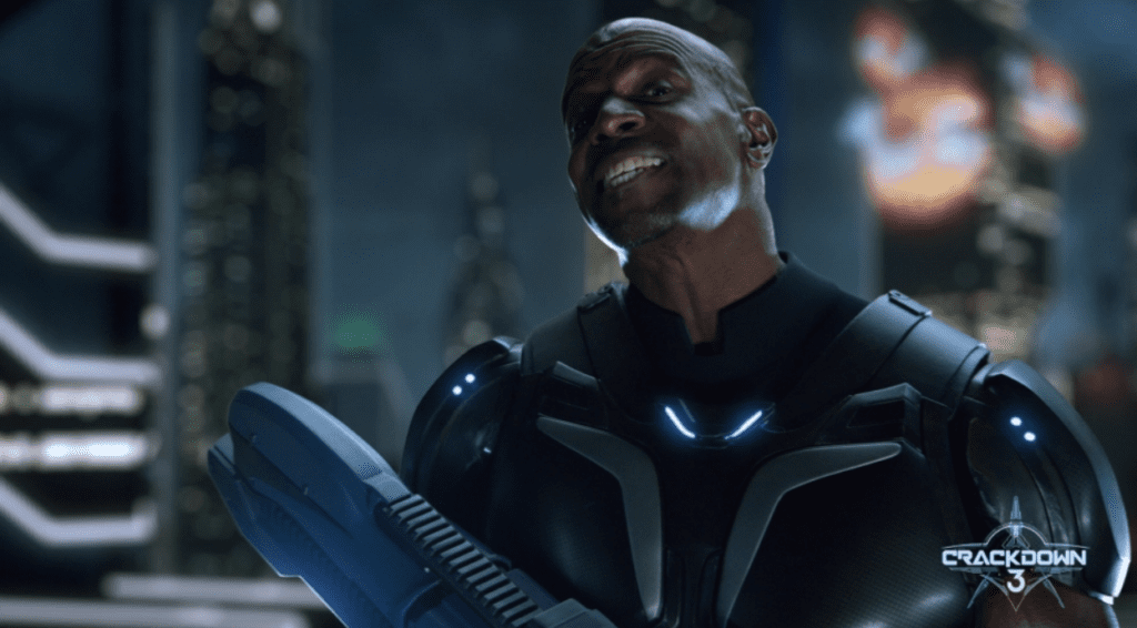 Crackdown 3 Terry Crews Smile