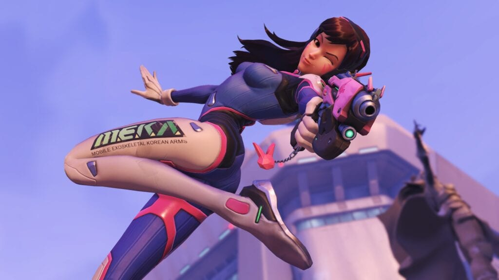 Overwatch Glitch Hilariously Gives D.Va 'Play of the Game' (VIDEO)