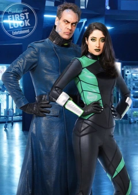 Kim Possible Live Action Movie Reveals First Look At Shego, Dr. Drakken