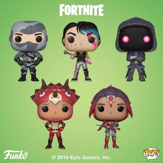 Funko Releases Ten New Fortnite Pop Figures Amp Keychains