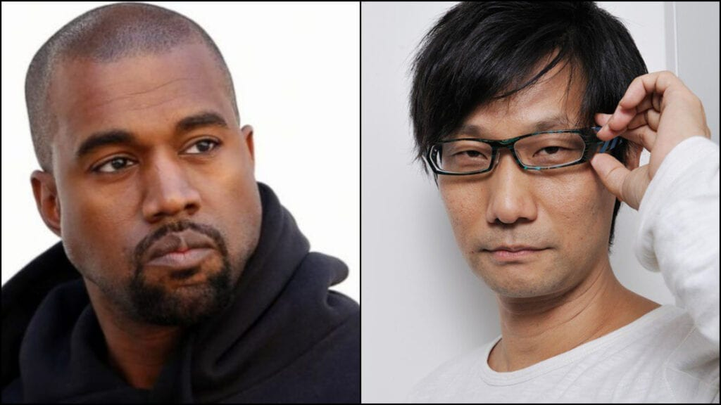 Kanye West Attempts To Arrange Hideo Kojima Meetup