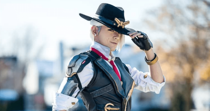 Overwatch Ashe Cosplay