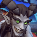 Overwatch Junkrat Krampus
