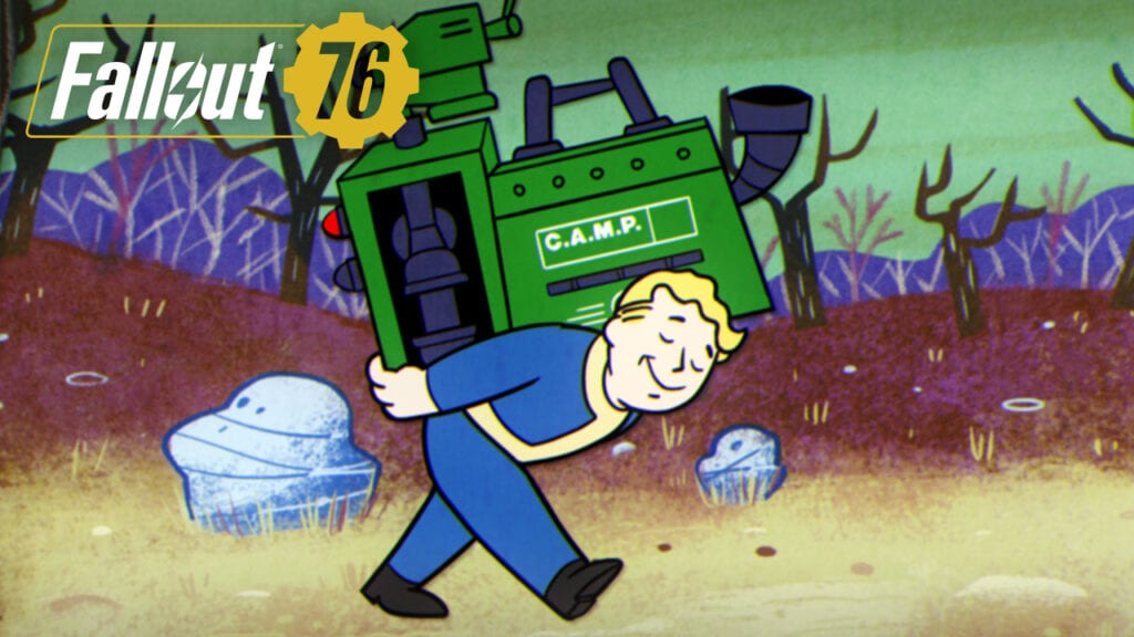Fallout 76 Patch Adds Push-to-Talk, C A M P  Changes, And More