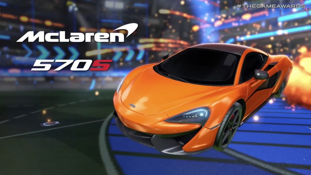 Rocket League Reveals McLaren 570S Car Pack DLC (VIDEO)