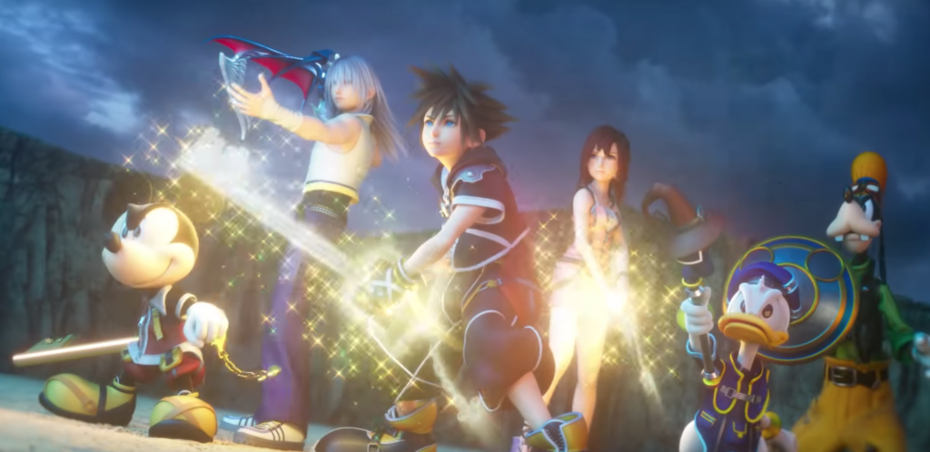 Kingdom Hearts III Opening Movie