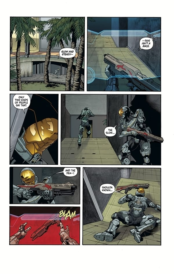 Halo: Lone Wolf P1