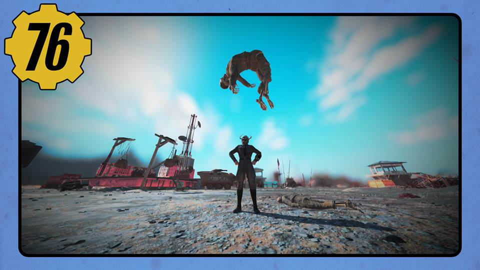 Fallout 76 Players Are Making Hilarious Postcards From Glitches