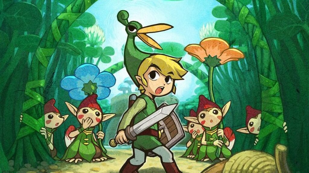 The Legend of Zelda Minish Cap Animated In Studio Ghibli Style Is A Perfect Fit (VIDEO)