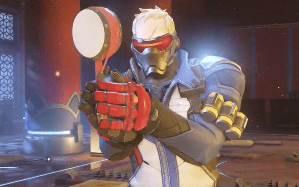Overwatch Lunar New Year 2019 Soldier 76