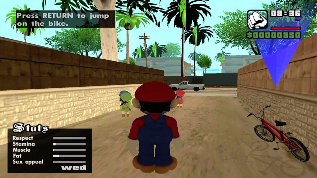 Super Smash Bros. And Grand Theft Auto Collide In This Epic Mod (VIDEO)