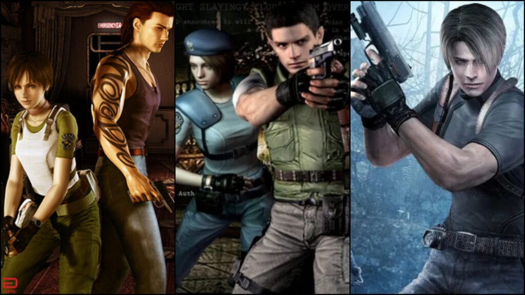 Resident Evil 0, 1, And 4 Announced For Nintendo Switch