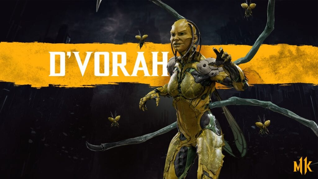 Mortal Kombat 11 Adds D'Vorah To The Fighter Roster (VIDEO)