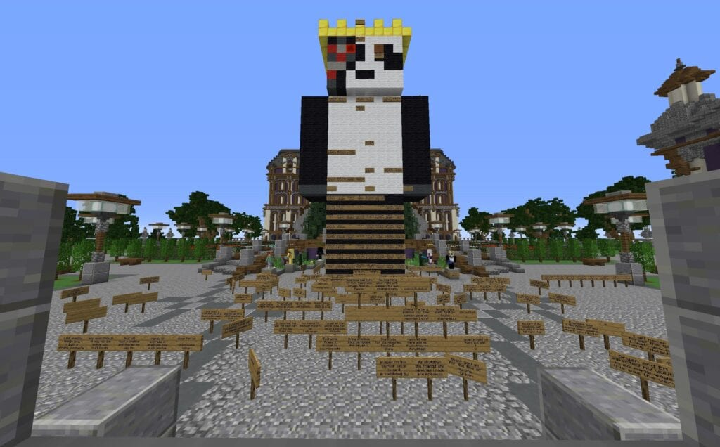 Minecraft Players Craft A Heartfelt Tribute To Server Owner