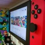 Nintendo Fan Transforms TV Into Giant Nintendo Switch