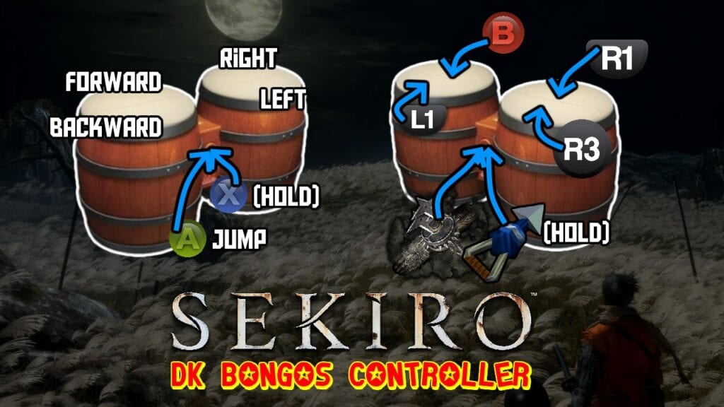 Sekiro: Shadows Die Twice Player Beats The Game With DK Bongos (VIDEO)